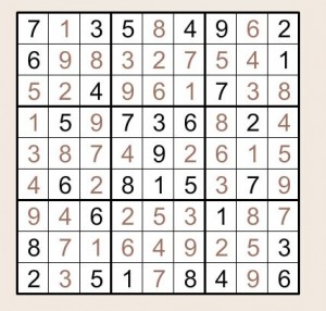 SudokuLsg
